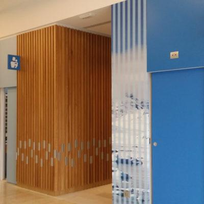 Servizi toilette centro commerciale